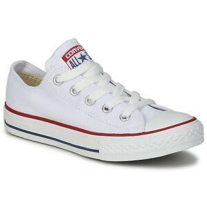 Scarpa bassa di tela Converse All Star Classic colore bianco ...
